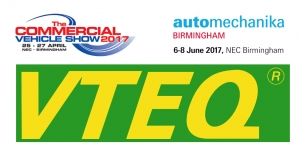 VTEQ en Commercial Vehicle Show - Birmingham 2017 y Automechanika Birmingham 2017