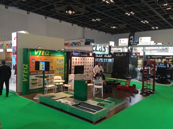 VTEQ en Automechanika Middle East - Dubai 2016